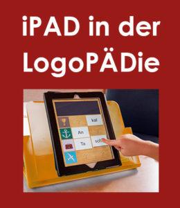 Logopädie Plattling Arbeiten mit iPAD